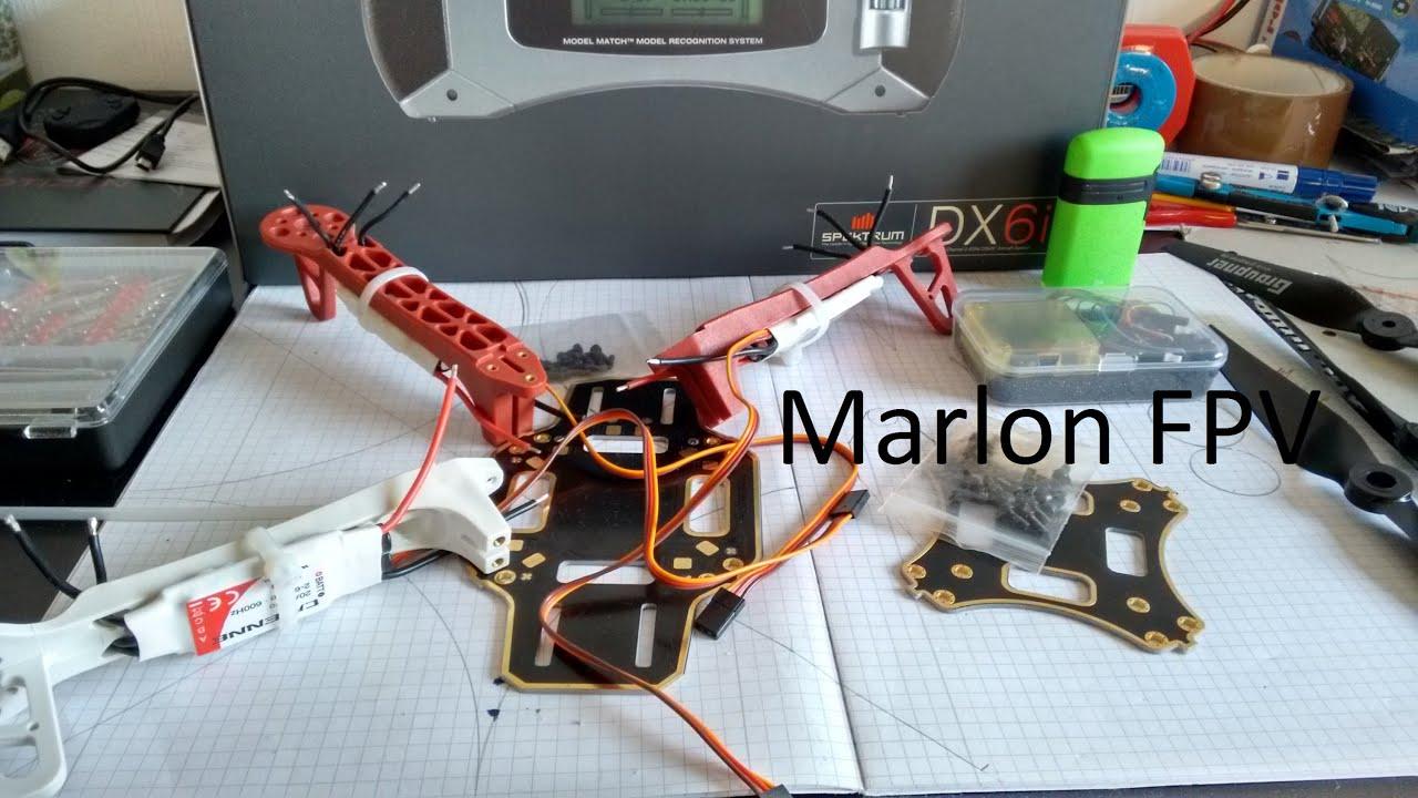 Lets Build Dji F330 Quadcopter Mit Cc3d German Youtube Mini Revo Wiring Diagram