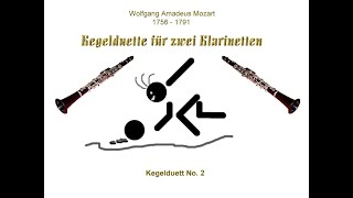 W. A. Mozart - Kegelduett No. 2