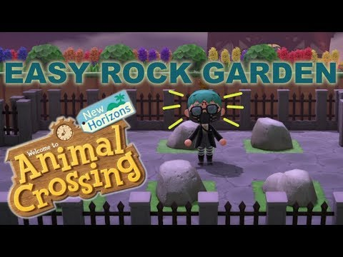 How To MOVE and ARRANGE Rocks | Animal Crossing New ...