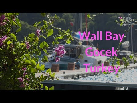Sailing in Turkey -Wall Bay, Gocek, Turkey |  Sea TV