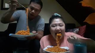 VLOG # 4: Korean Spicy Noodle Challenge with Jay-more!💑