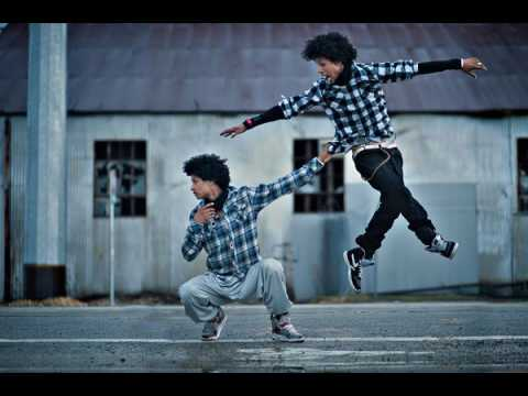LES TWINS // Justin Timberlake Suit &Tie Fast Version