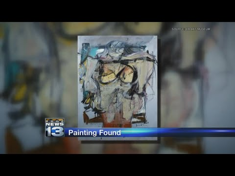 Valuable painting stolen 30 years ago found in New Mexico