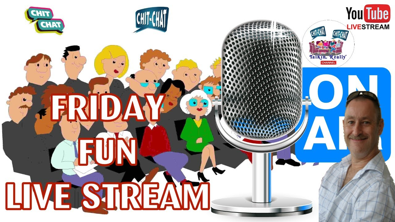 Friday Fun Talking Really Live, 14 August 2020