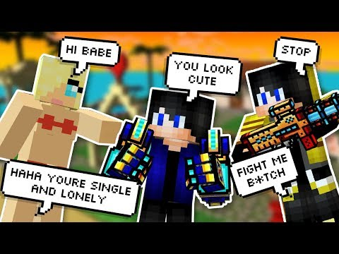 TRIGGERING A 13YR OLD ON SANDBOX IN PIXEL GUN 3D! (PRETENDING TO BE A DATER)