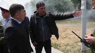 Взрыв газа в Бистро на Лермонтова - Баймагамбетова