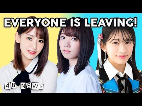 IZ*ONE, Keyakizaka Graduations, New Nogi Songs, AKB48 54th Single - AKB48 News of the Week