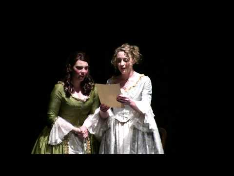 "Letter Duet from ""The Marriage of Figaro"" (Mozart) in English - Peninsula Teen Opera"