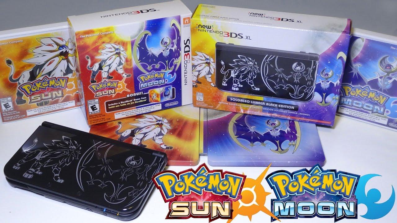 unboxing pokemon sun moon