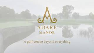 Golf course at Adare Manor, Ireland