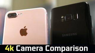 Samsung S8+ vs iPhone 7 plus - Camera Comparison