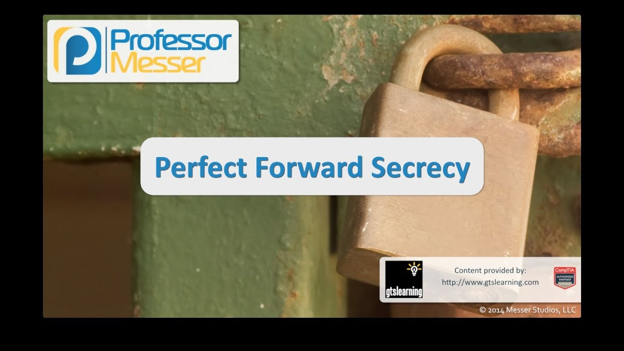perfect forward Perfect forward secrecy (pfs) refers to the notion that compromise of a single key will permit access to only data protected by a single key forward secrecy has been used as a synonym for perfect forward secrecy but there is a subtle difference between the two.