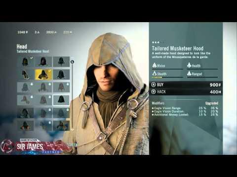 Assassin's Creed Unity Character Customization