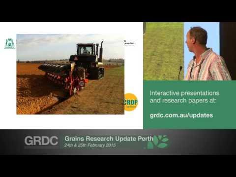 Agribusiness Crop Updates 2015 | Perth | Soil Constraints - West initiative - Belford, Even & White