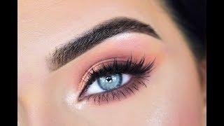 New Huda Beauty Topaz Obsessions Eyeshadow Palette | Eye Makeup Tutorial