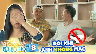 Wonderful Honeymoon | S2E8: Quoc Nghiep's liking for wearing thong got Xuan Phuc and wife speechless