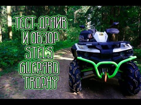 Обзор и тест-драйв квадроцикла STELS 800 GUEPARD Trophy