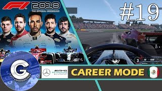 Let's Play F1 2018 Career Mode   Mercedes Career #19   THIS COULD COST US THE CHAMPIONSHIP!