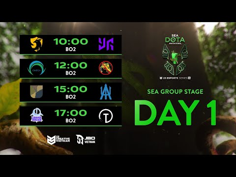 23 Esports TV - SEA GROUPSTAGE | TRUNG ANH FT HOANG NGO | SE