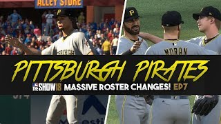 MLB The Show 18 Franchise Pittsburgh Pirates - Massive Roster Changes Ep. 7