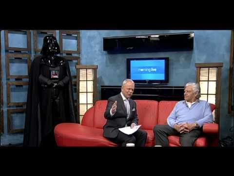 2013 - CHCH Morning Live interview with David Prowse