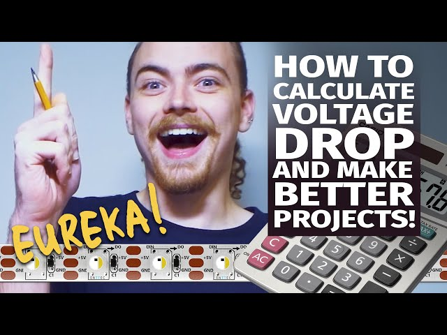 How to calculate voltage drop and make better projects!