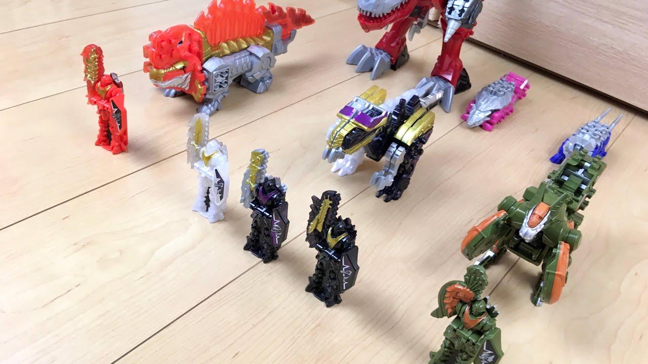 【DX PR Dino Fury #2】そもさん!汝に問う! ディメボルケーノ光と闇、パキチビで遊んでみた