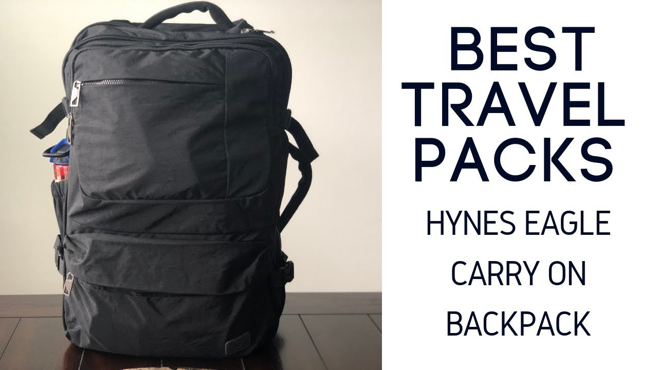 Best Budget Travel Packs  Hynes Eagle 44L Carry On Backpack Review ... 626a0cacd3c82