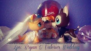 Lps: Bryan & Valerie's Wedding Part 1