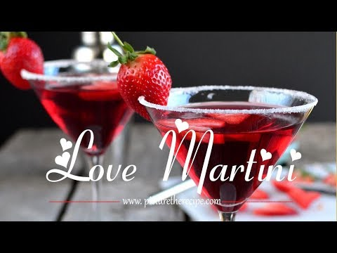 Love Martini (Cranberry Cocktail)