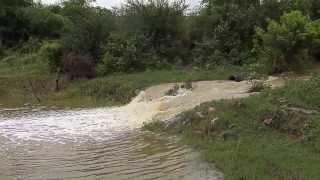 Enchente repentina no Sertão da Bahia (22/12/2013) - Parte 3