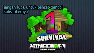 Bermain game Minecraft series 1#game Indonesia#