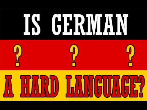 how to say hard in german