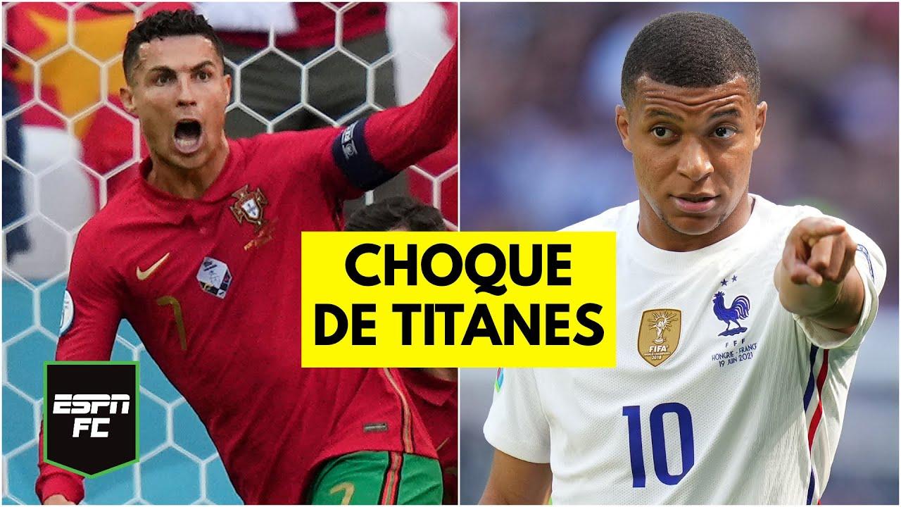 SE DEFINE EL GRUPO DE LA MUERTE Cristiano Ronaldo quiere vencer a Mbappé en la Euro 2020 | ESPN FC