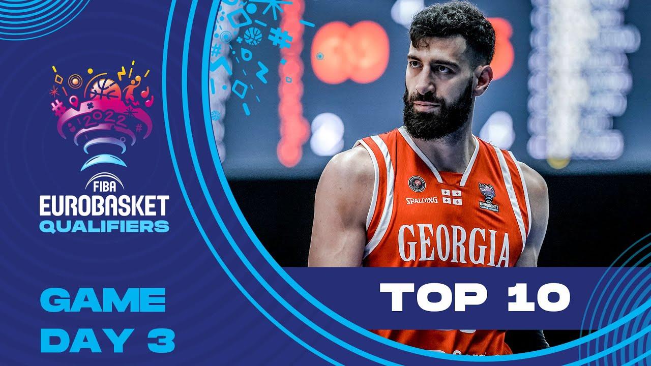 Nike Top 10 Plays w. S. Larkin, T. Shengelia & more | Game Day 3