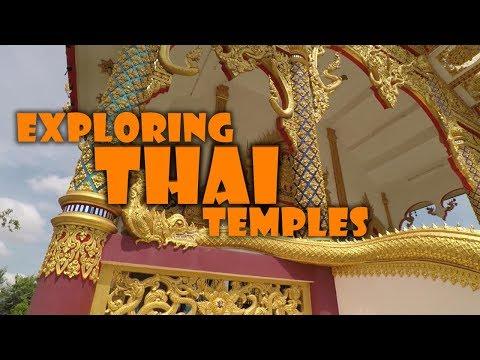 Exploring Local Thai Temples