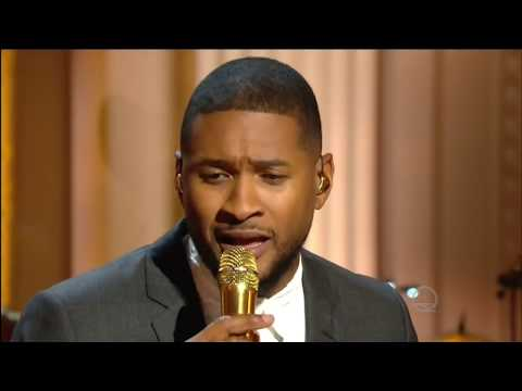 "Usher sings ""Georgia On My Mind"" Live Ray Charles Tribute 2016 in 1080p HD HQ."