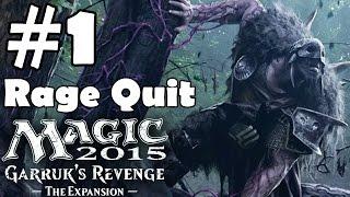 Magic 2015 Garruk's Revenge Walkthrough Part 1 Gameplay Duels of the Planewalker Let