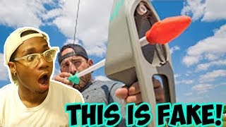IS THIS FAKE? Nerf Bow Trick Shots | Dude Perfect