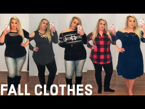 Affordable FALL Clothing Try-On Haul | Curvy + Plus Size | Rosegal. http://bit.ly/2m3F6Vh