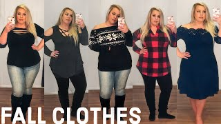 Affordable FALL Clothing Try-On Haul | Curvy + Plus Size | Rosegal