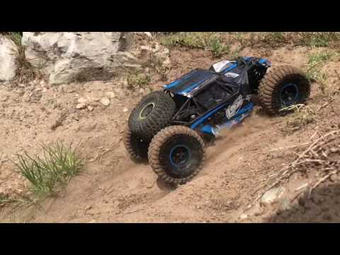 Losi Rock Rey running video rock crawling rock racer 1/10 scale RC best RC