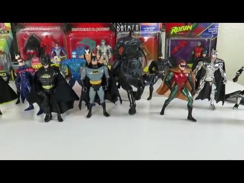 Some of  My Batman vintage figures from kenner toys