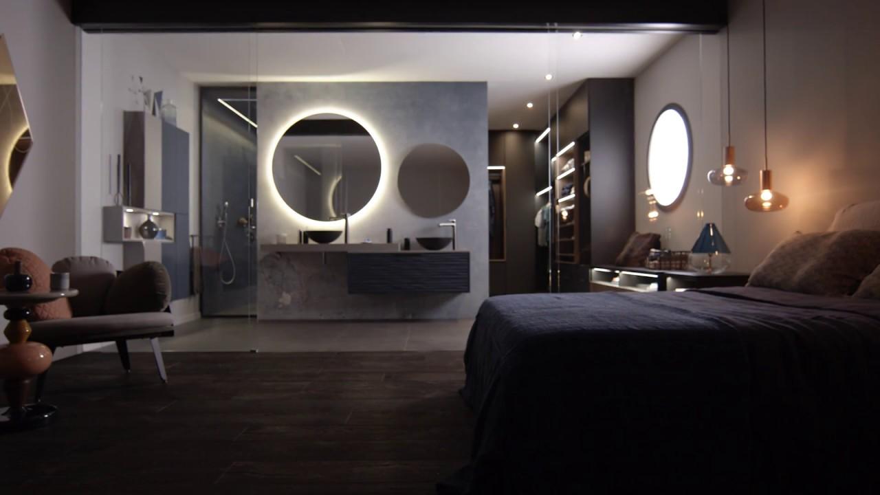 Chambre Ouverte Salle De Bain une salle de bain ouverte sur la chambre et le dressing