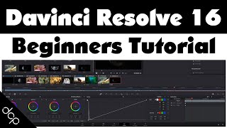 DaVinci Resolve 16 - Beginners Tutorial - Free Video Editing Software