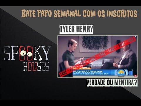 Spooky - Mediunidade - Tyler Henry verdadeiro ou falso? thumbnail