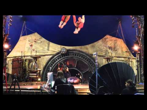 Pierre Manning - Captures the Theatrical Emotion in Action - Cirque du Soleil