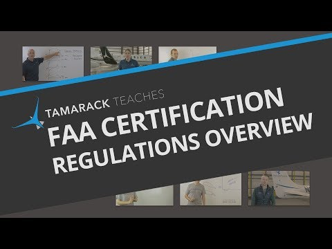 FAA Certification: Regulations overview