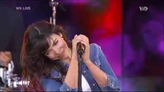 Indila - Dernière danse (W9 Live - 14/06/2014)