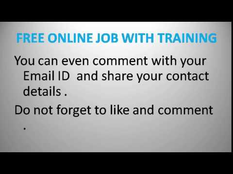 Online Job With Training